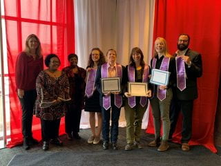 Lavender Graduation group shot