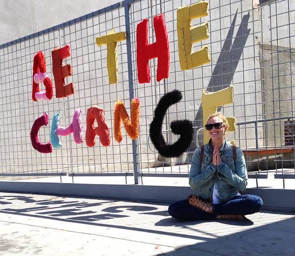 Erin Lorenzen, be the change, Dean's Spotlight