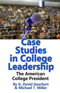 New Book by Gearhart and Miller Focuses on College Leadership
