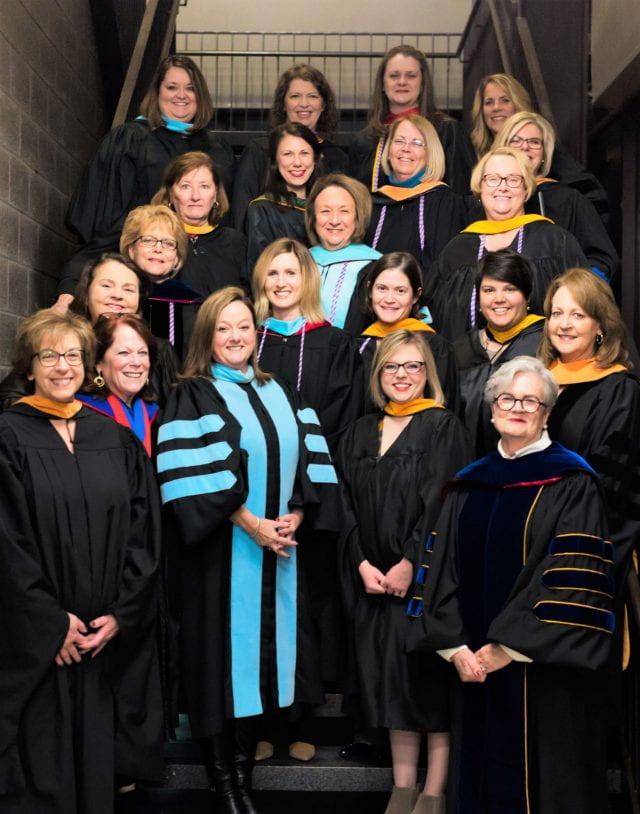 Eleanor Mann School of Nursing faculty