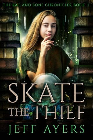 Skate the Thief book, Jeff Ayers