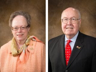 Mary Ann and Reed Greenwood