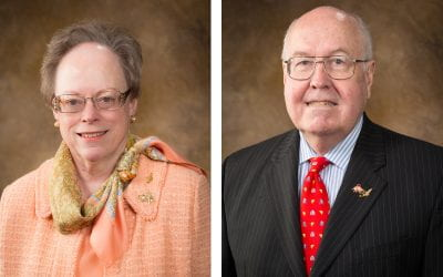 Reed and Mary Ann Greenwood Establish COVID-19 Emergency Fund for COEHP Students