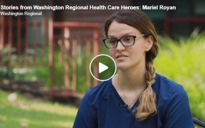 Nursing School Graduate Helps COVID Patients Communicate with Family at Washington Regional
