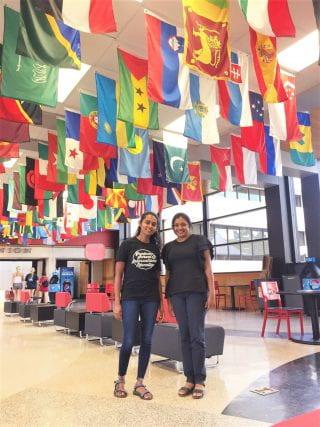 Fulbright International Scholars pose at the University of Arkansas Student Union, CDIS 2020