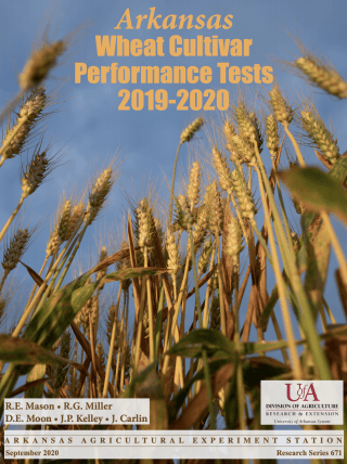 wheat cultivar performance tests