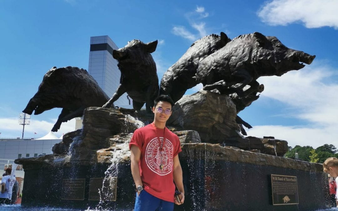 A Malaysian Student Experience at the University of Arkansas