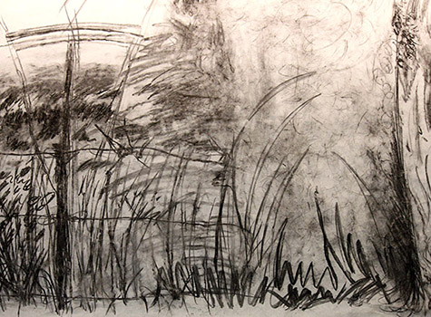 A sketch created during the studio.