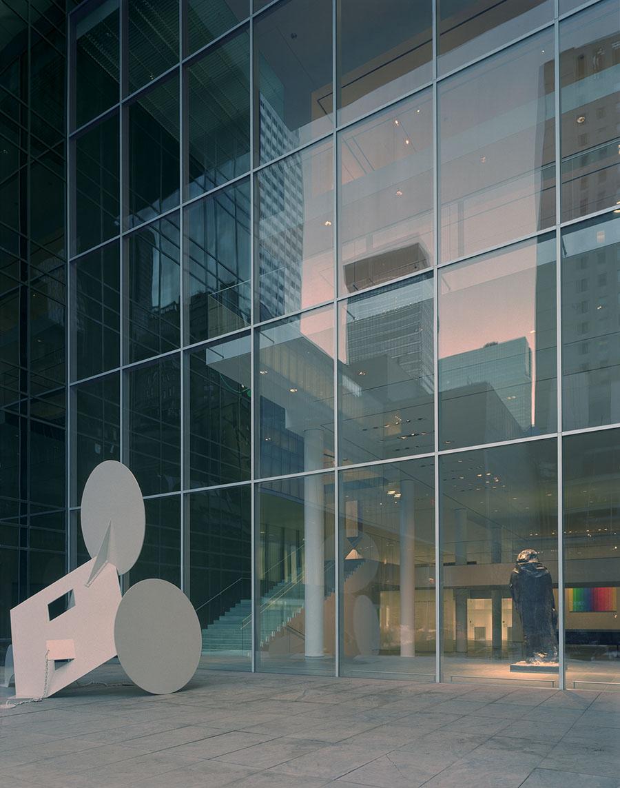 The Museum of Modern Art (MoMA) in New York, designed by the architect Yoshio Taniguchi. (Photo by Tim Hursley)