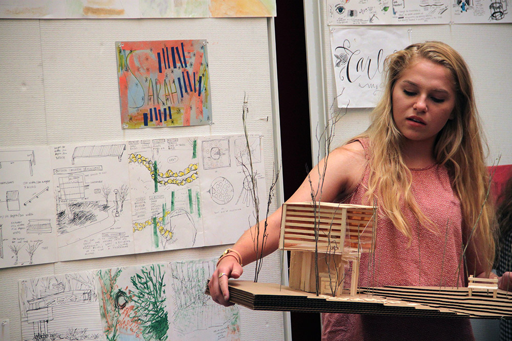 Design I students gain basic experience at Design Camp