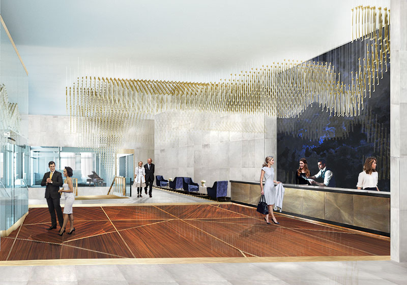 Baker wins Donghia Foundation competition with Cleveland hotel design