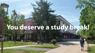 Study Breaks and Extended Hours at Mullins Library