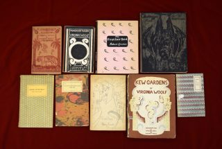 Hogarth Press Turns 100: Celebrating with Handprinted and Rare Books in Special Collections
