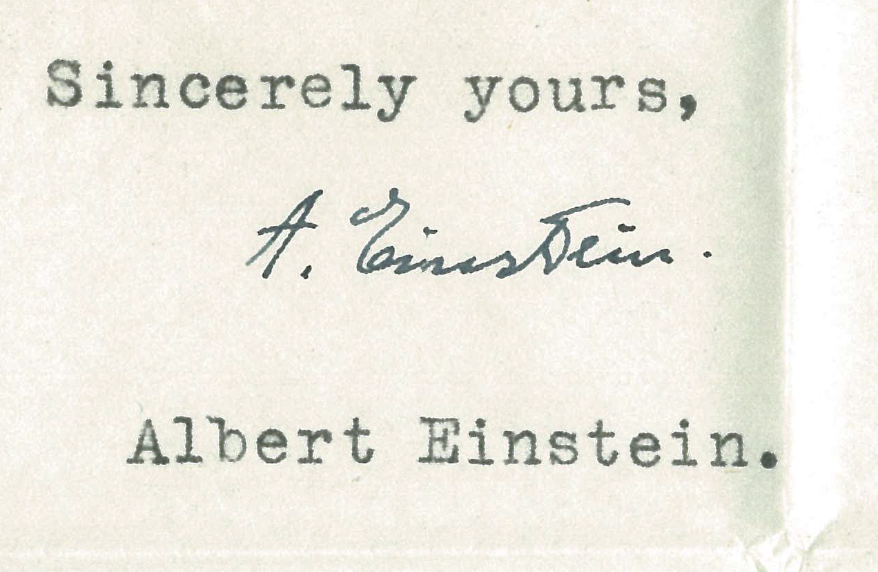 Einstein on Religion: Remarkable Finds in the James D. Bales Papers