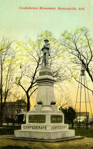 Heritage? History? Discover it in the Archives!  Researching the Bentonville Square Confederate Memorial