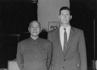 Bales and Chiang Kai-Shek