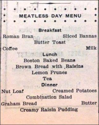 Meatless recipe