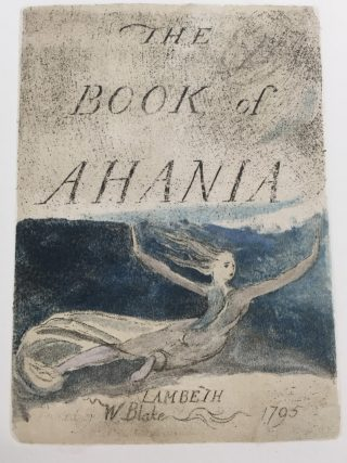 Blake Intaglio engraving in Ahania.