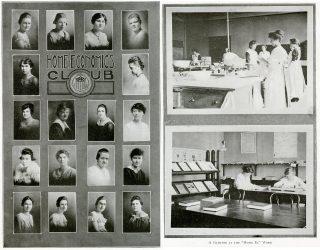 Home Ec Club in 1918