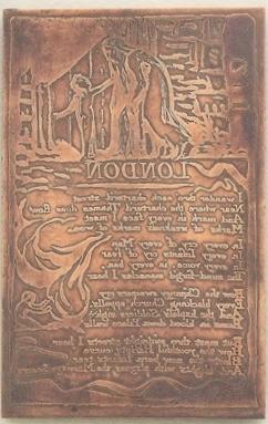 Blake copper engraving.