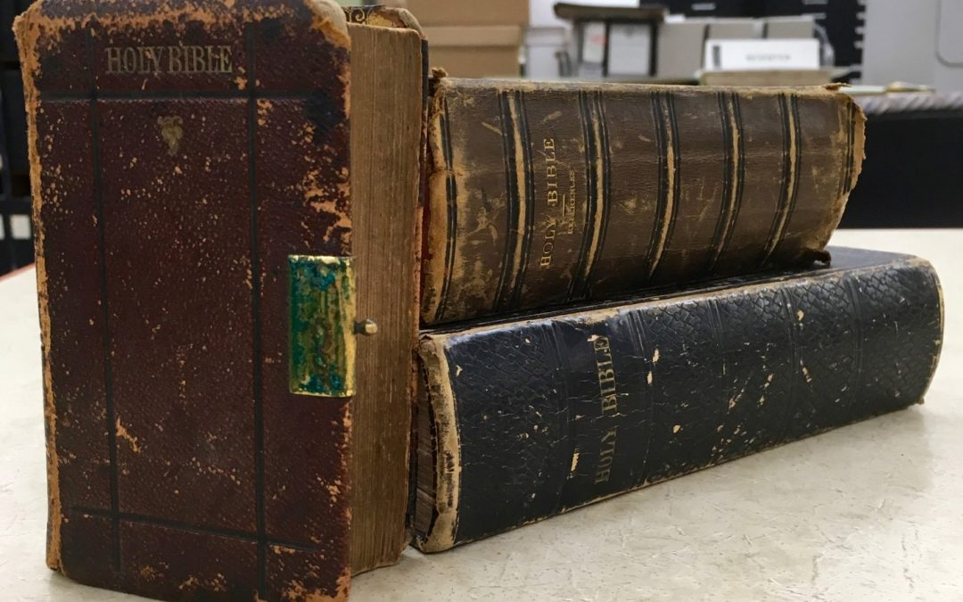 Unraveling the American Bible through Book Materiality