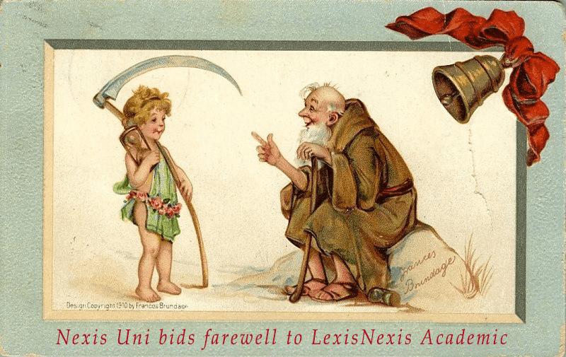Nexis Uni bids farewell to LexisNexis Academic