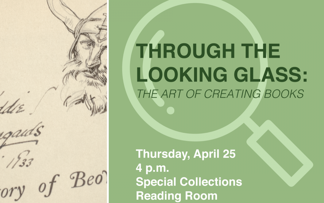 Libraries to Host Panel Discussion of Artists' Books and Graphic Novels April 25