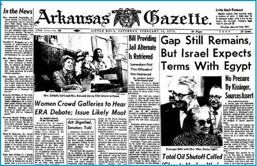 Arkansas Gazette, Feburary 15, 1975
