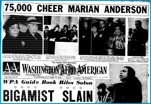 Baltimore Afro-American, April 15, 1939