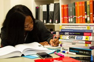 Libraries and ASG Provide Test Prep Books for MCAT, GRE, More