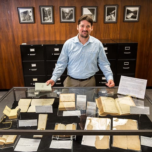 Special Collections Librarian Elected President of Society of Southwest Archivists