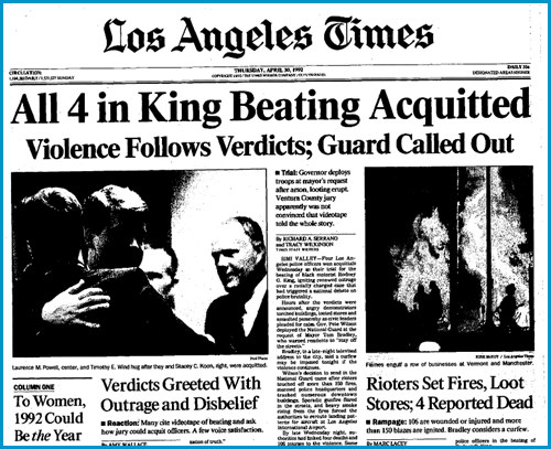 Los Angeles Times, April 30, 1992