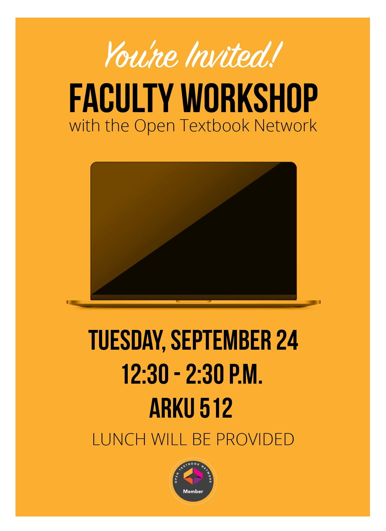Open Textbook Network Faculty Workshop and Paid Review
