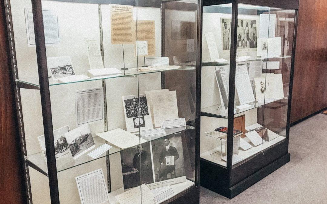 Elaine Massacre Exhibit on Display in Mullins Library