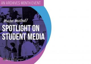 Libraries Event, Exhibit Shine Spotlight on Student Media During Archives Month