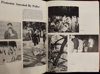 Spring 1969 tree protest