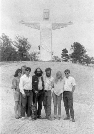 Ginsberg in Eureka Springs.