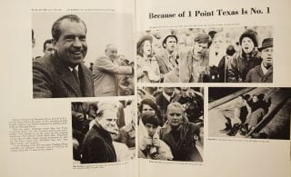 Nixon in the Razorback.