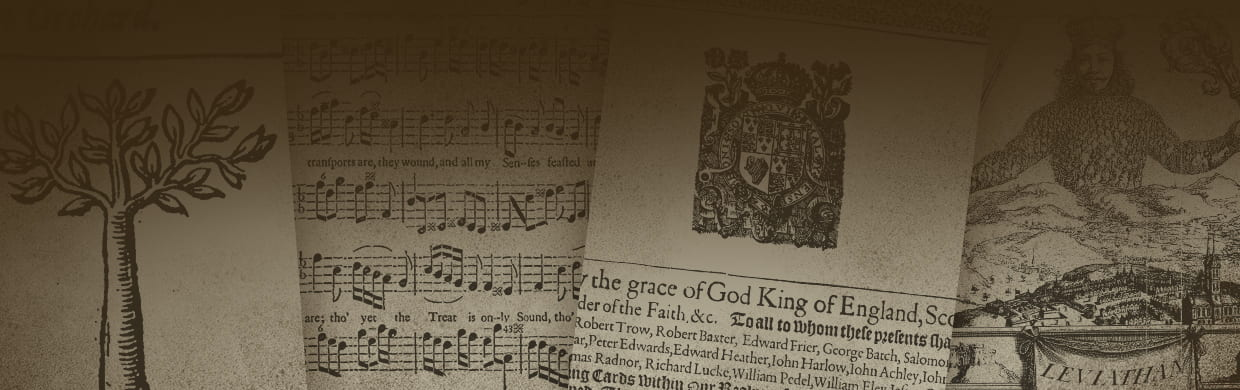 Early English Books Online Banner