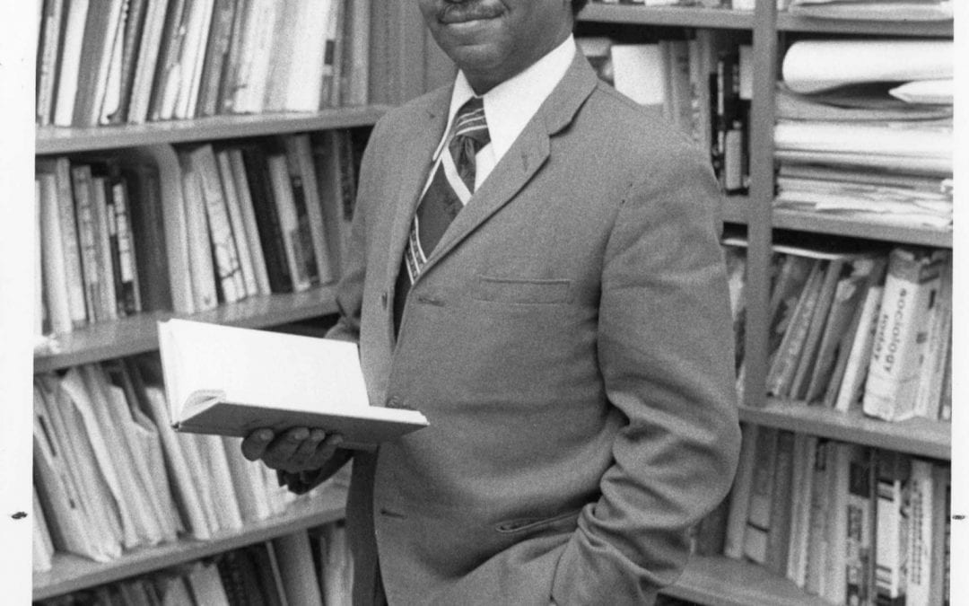 Collection of First African American Professor at U of A Now Open