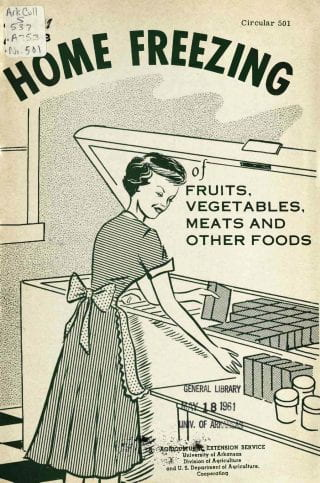 1961 Home Freezing Pamphlet