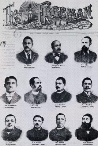 Arkansas African American legislators