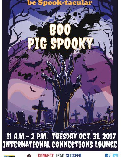 Tabloid_Boo Pig Spooky