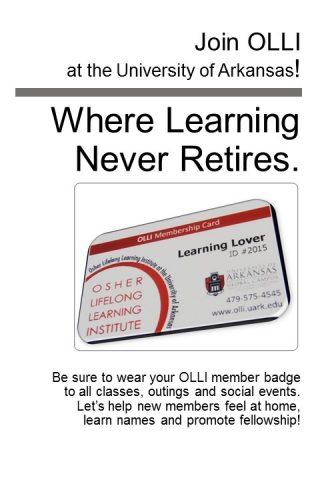 OLLI member badge