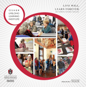Cover of Spring 2019 OLLI catalog