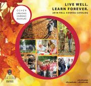 Cover of OLLI Fall 2019 course catalog