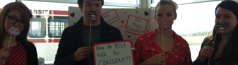 outreach table about consent