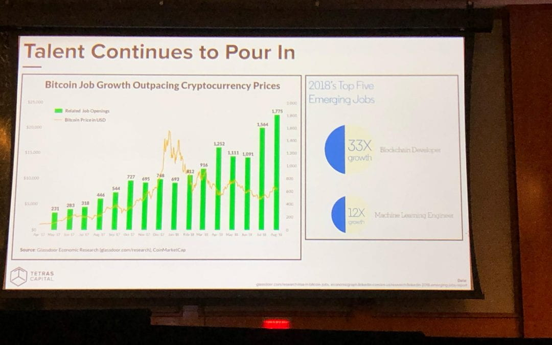 Blockchain Talent Growth at Consensus 2019