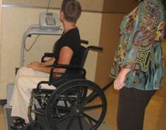 Wheelchair scale
