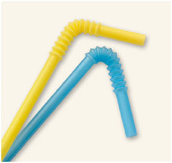 Bendable drinking straws